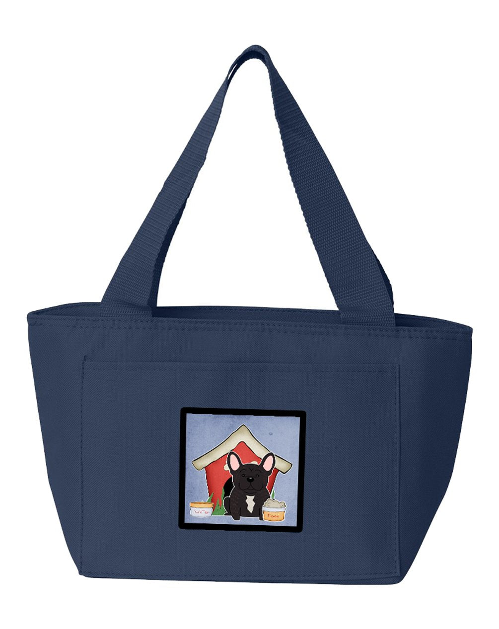 Buy this Dog House Collection French Bulldog Brindle Lunch Bag BB2763NA-8808