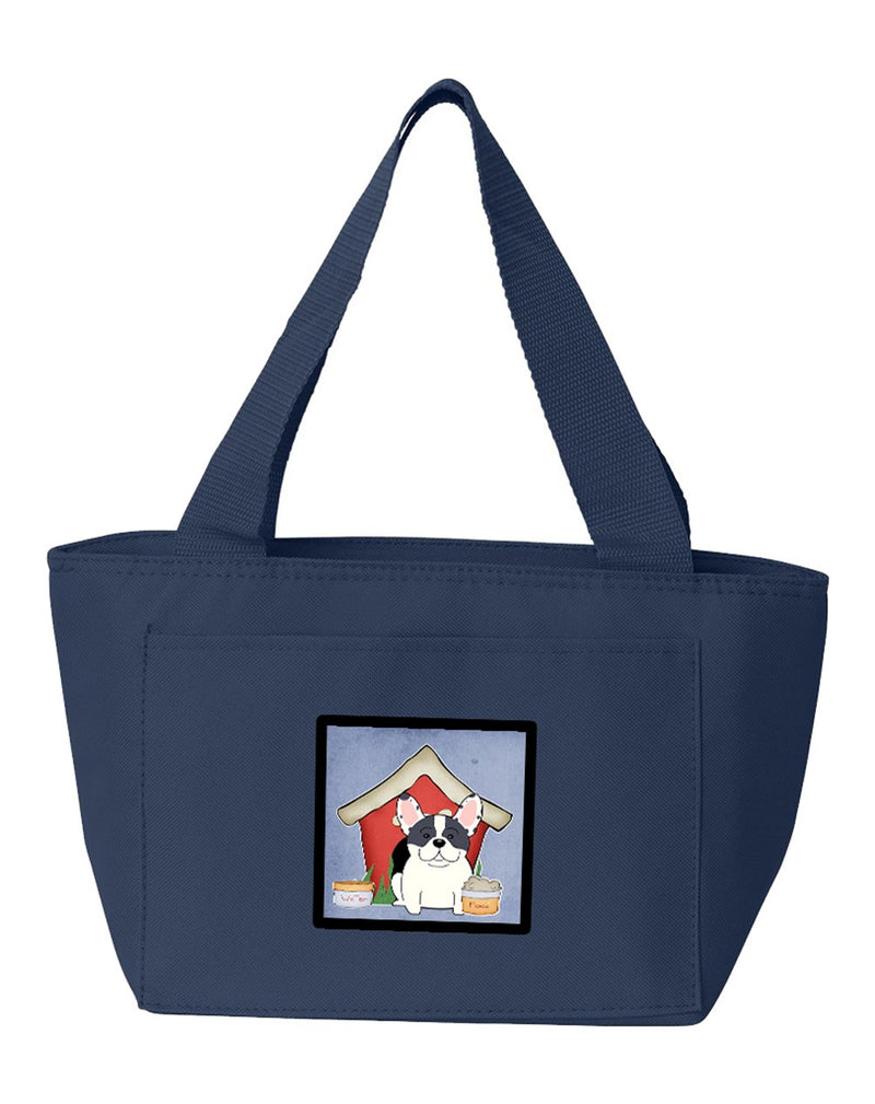 Buy this Dog House Collection French Bulldog Piebald Lunch Bag BB2765NA-8808