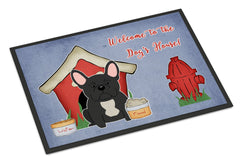 Buy this Dog House Collection French Bulldog Black Indoor or Outdoor Mat 24x36 BB2768JMAT