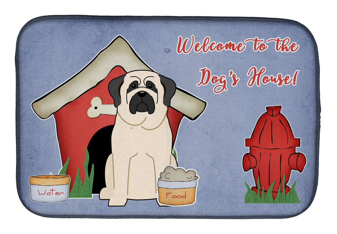 Buy this Dog House Collection Mastiff White Dish Drying Mat BB2771DDM