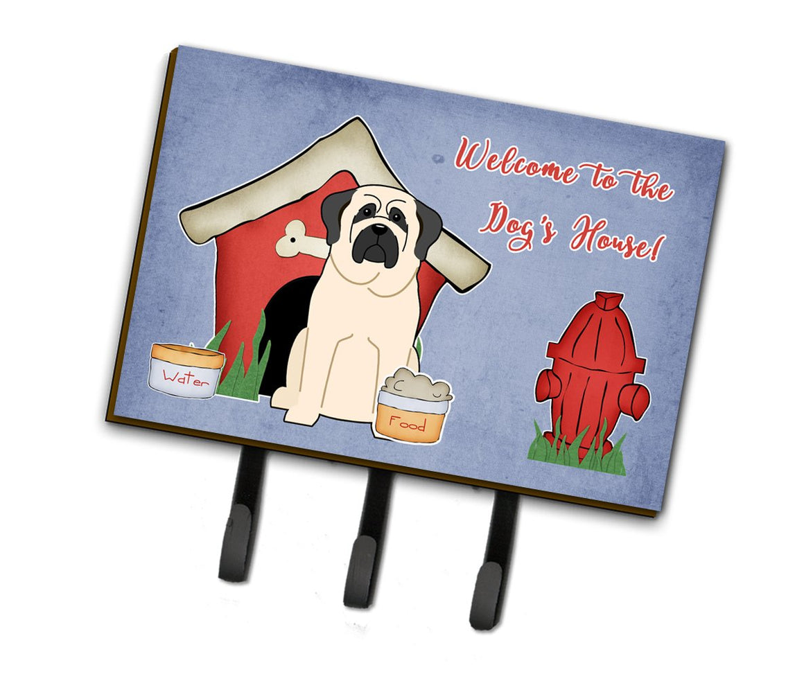 Buy this Dog House Collection Mastiff White Leash or Key Holder BB2771TH68
