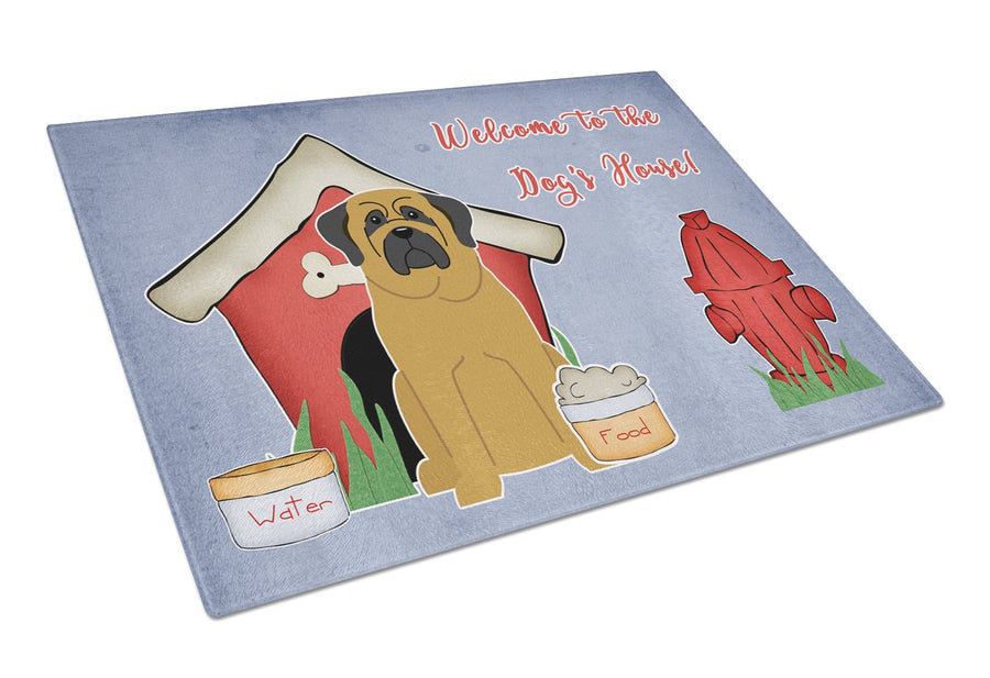 Buy this Dog House Collection Mastiff Glass Cutting Board Large BB2772LCB