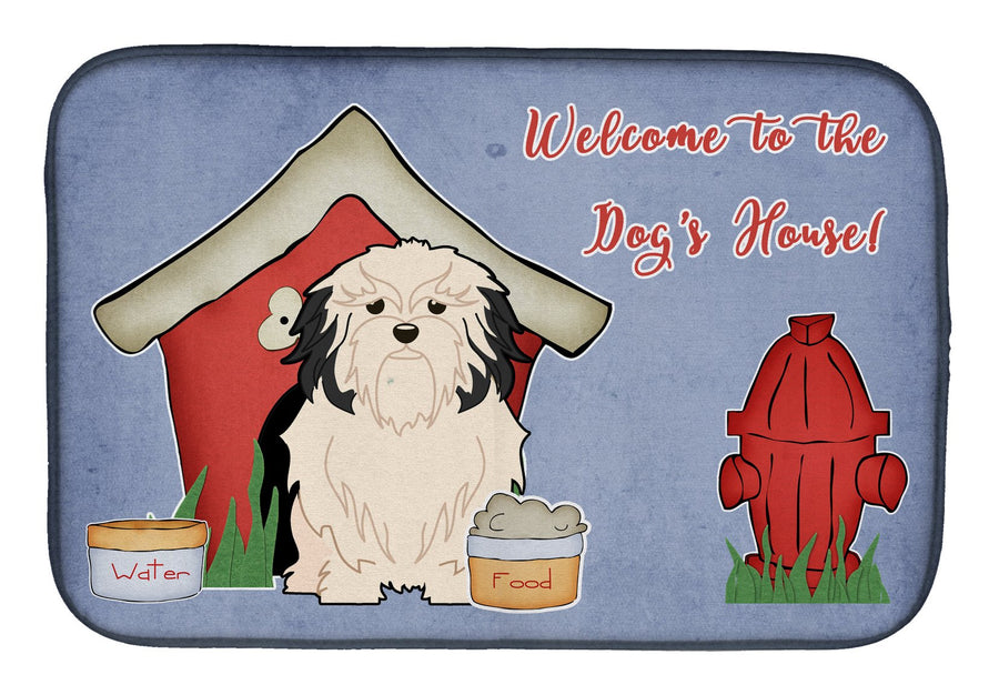 Buy this Dog House Collection Lowchen Dish Drying Mat BB2773DDM