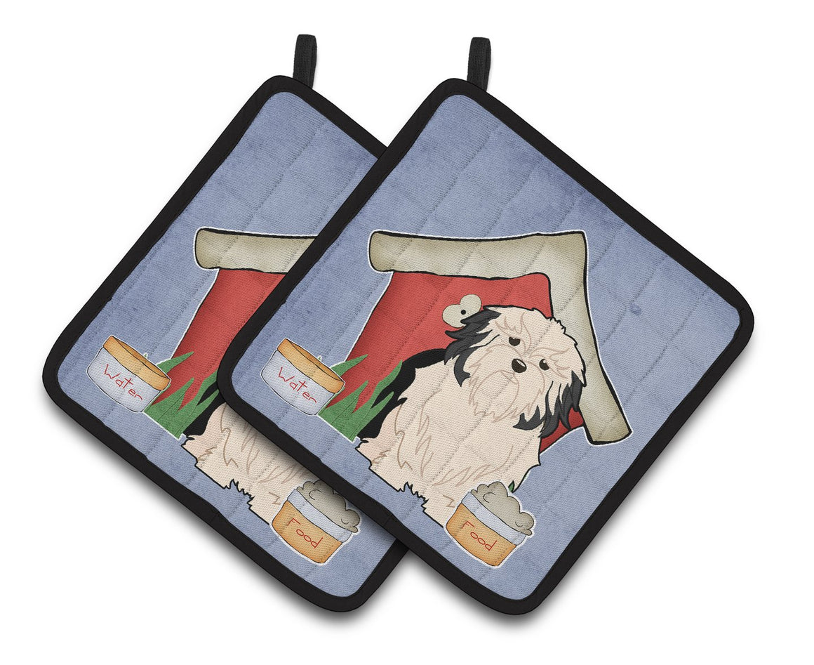 Buy this Dog House Collection Lowchen Pair of Pot Holders