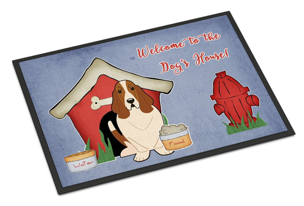 Buy this Dog House Collection Basset Hound Indoor or Outdoor Mat 18x27 BB2775MAT
