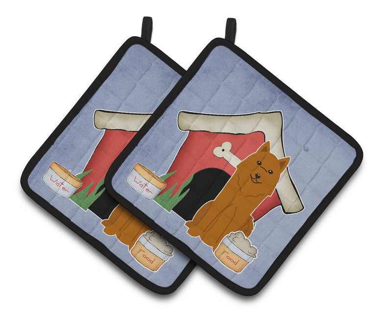 Buy this Dog House Collection Karelian Bear Dog Pair of Pot Holders