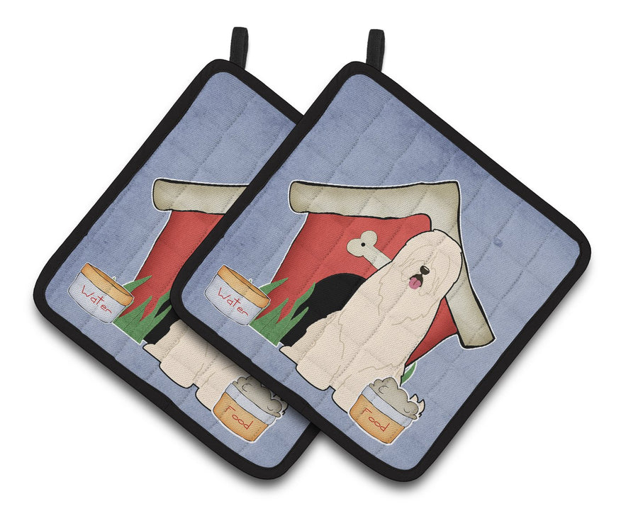 Buy this Dog House Collection South Russian Sheepdog Pair of Pot Holders