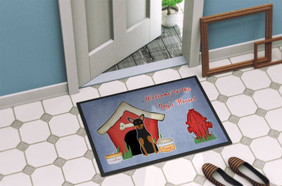 Dog House Collection Manchester Terrier Indoor or Outdoor Mat 24x36 BB2782JMAT