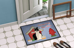 Dog House Collection Russo-European Laika Spitz Indoor or Outdoor Mat 24x36 BB2783JMAT
