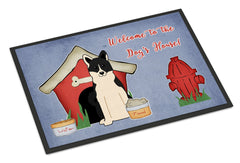 Buy this Dog House Collection Russo-European Laika Spitz Indoor or Outdoor Mat 24x36 BB2783JMAT