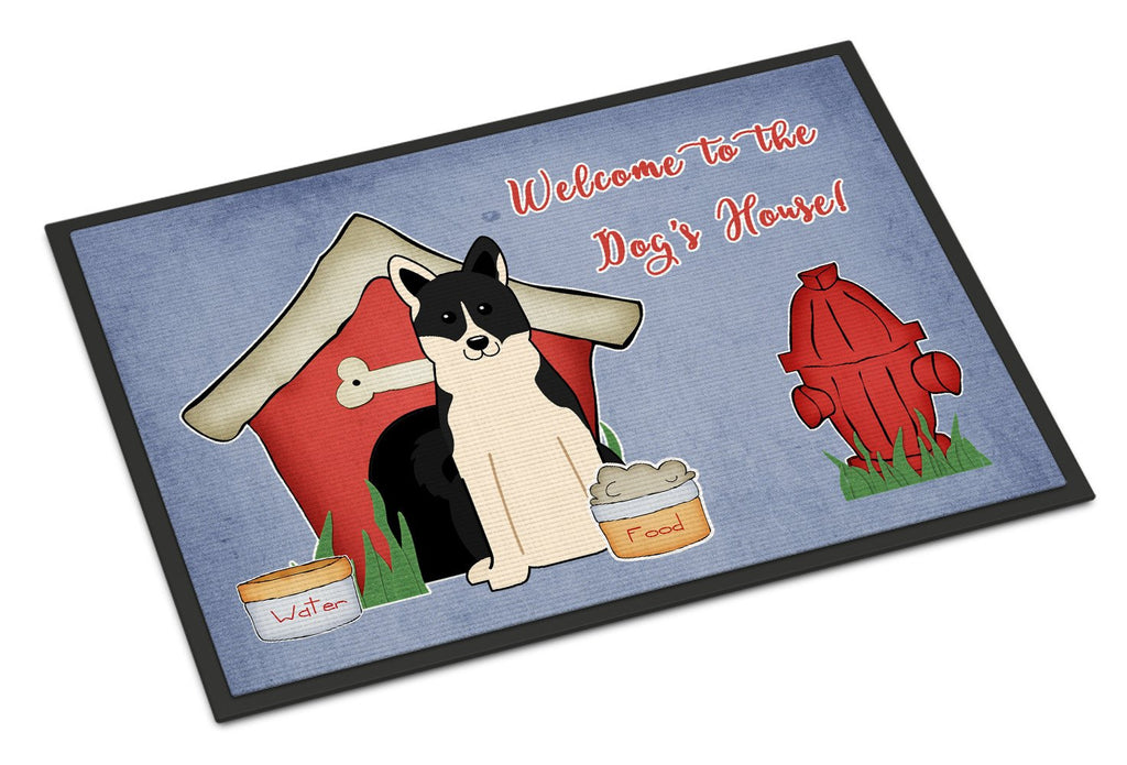 Buy this Dog House Collection Russo-European Laika Spitz Indoor or Outdoor Mat 18x27 BB2783MAT