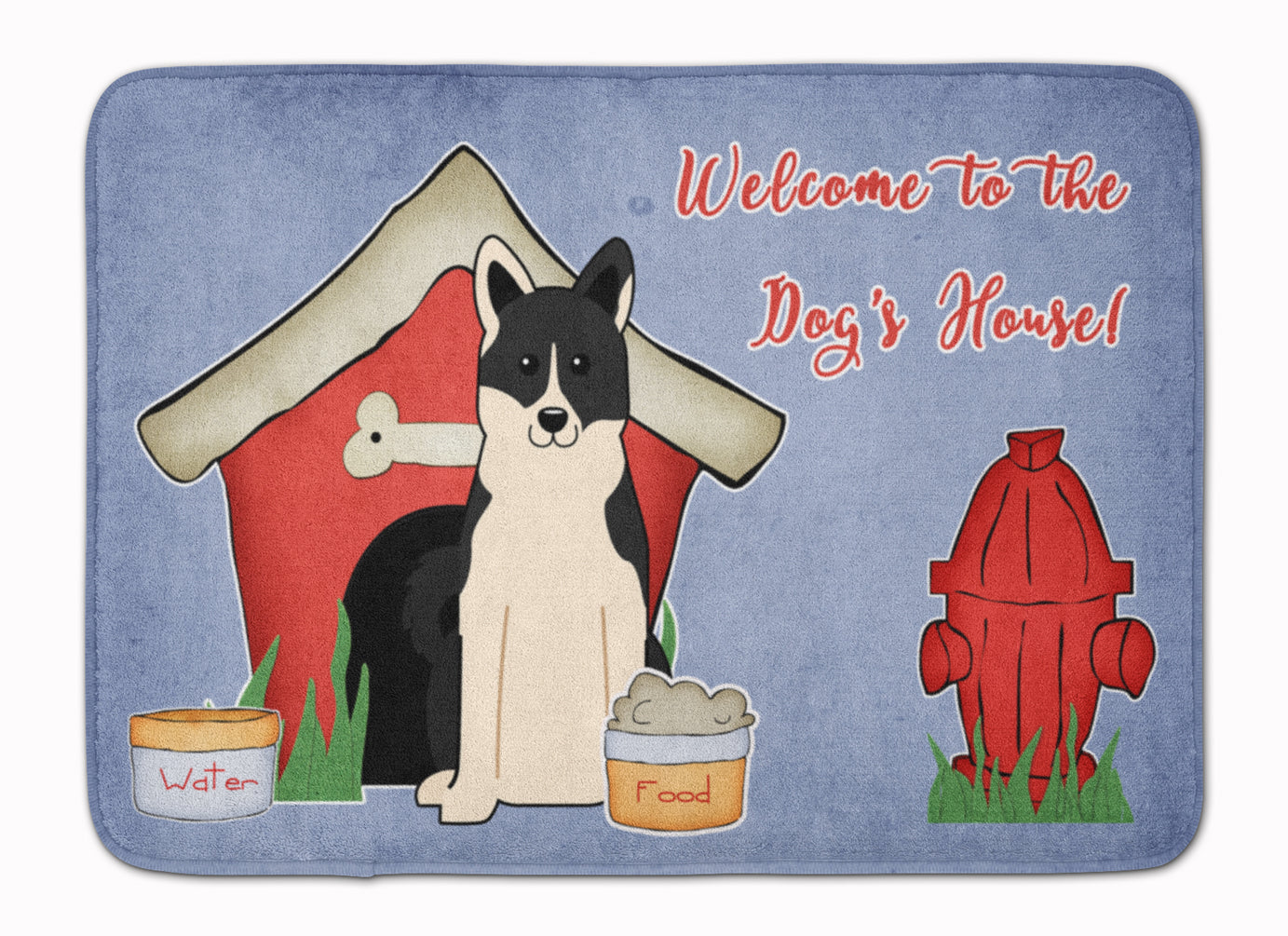 Dog House Collection Russo-European Laika Spitz Machine Washable Memory Foam Mat BB2783RUG by Caroline's Treasures
