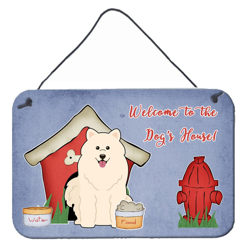Buy this Dog House Collection Samoyed Wall or Door Hanging Prints