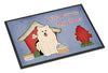 Dog House Collection Samoyed Indoor or Outdoor Mat 24x36 BB2784JMAT - the-store.com