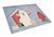 Buy this Dog House Collection Samoyed Glass Cutting Board Large BB2784LCB