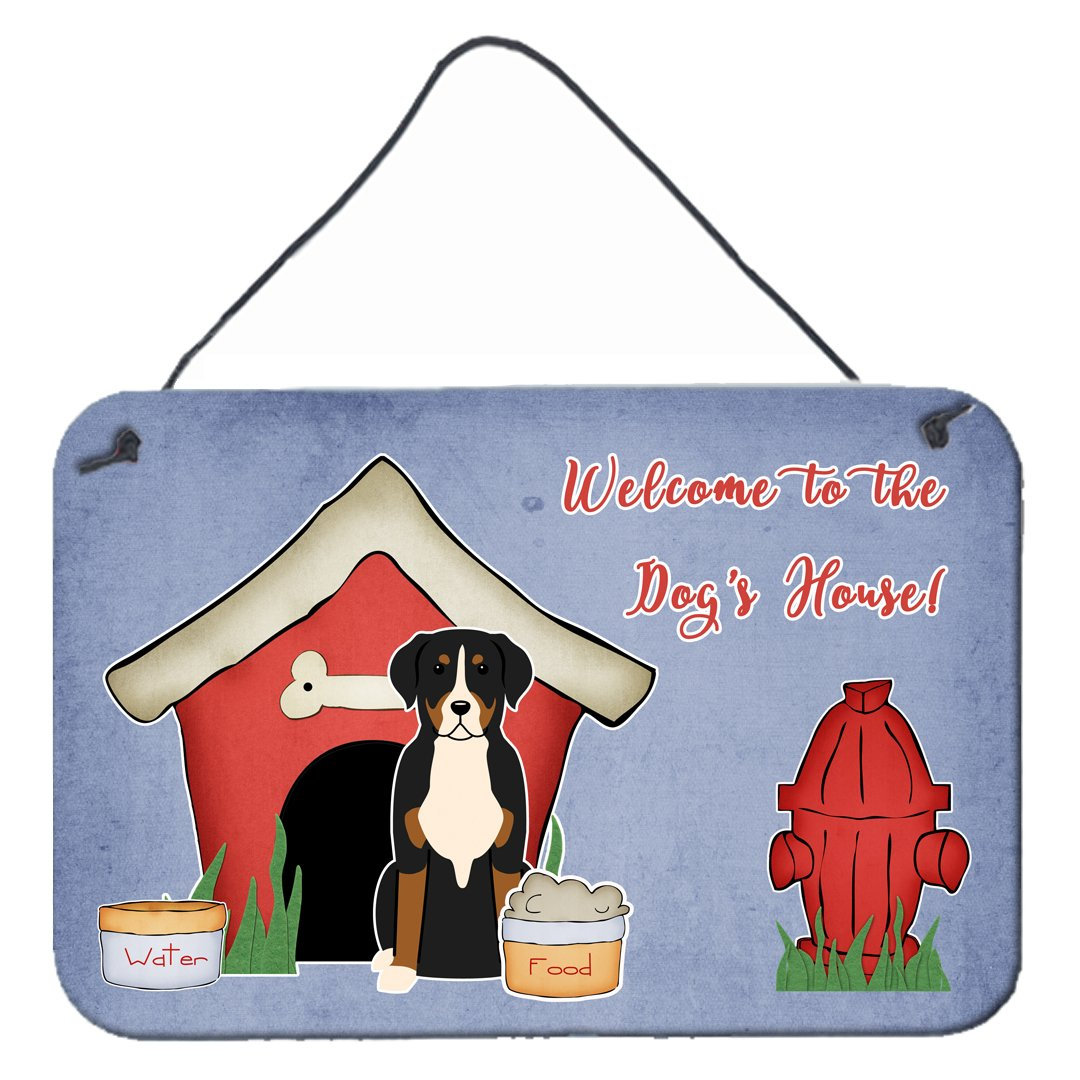 Dog House Collection Greater Swiss Mountain Dog Wall or Door Hanging Prints by Caroline's Treasures