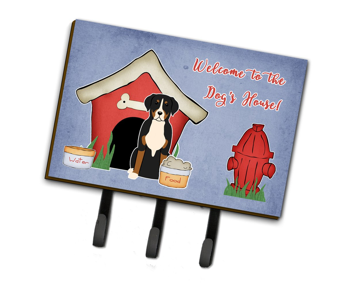 Dog House Collection Greater Swiss Mountain Dog Leash or Key Holder BB2791TH68 by Caroline's Treasures