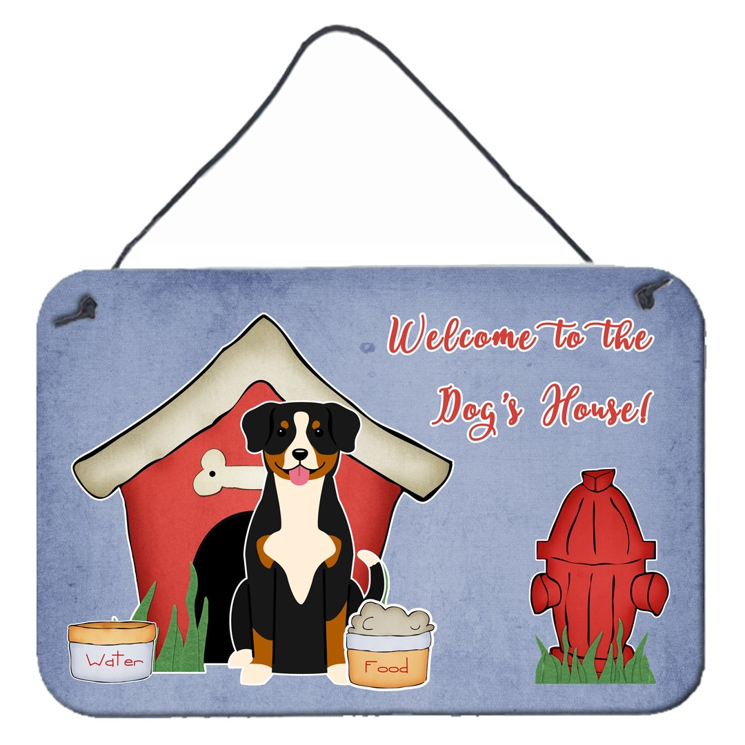 Dog House Collection Entlebucher Wall or Door Hanging Prints BB2792DS812 by Caroline's Treasures