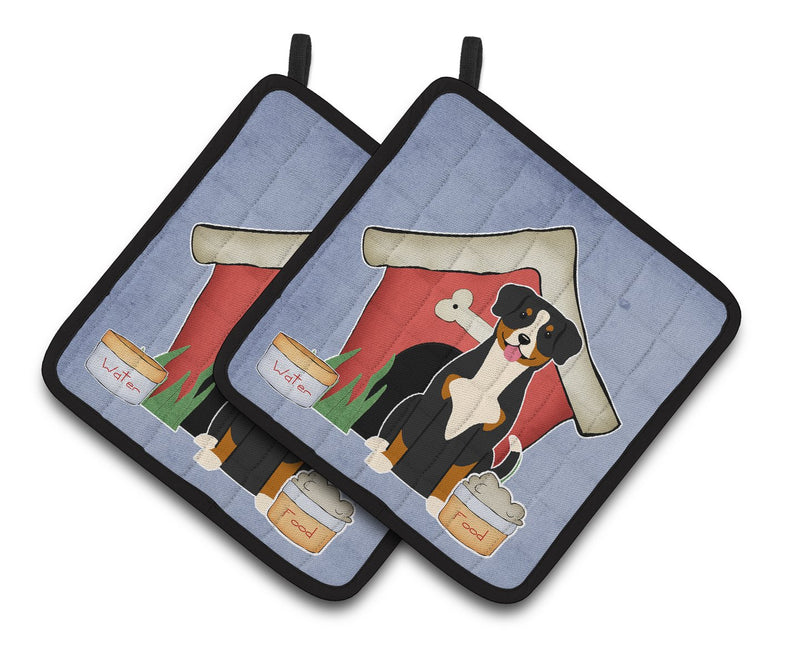 Buy this Dog House Collection Entlebucher Pair of Pot Holders