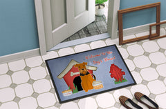Dog House Collection Airedale Indoor or Outdoor Mat 24x36 BB2795JMAT