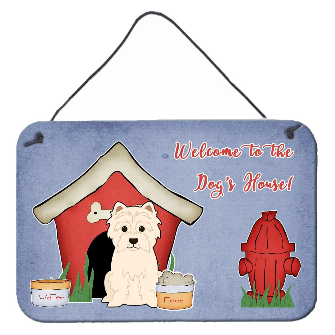 Buy this Dog House Collection Westie Wall or Door Hanging Prints