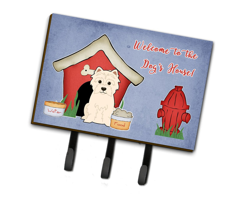 Buy this Dog House Collection Westie Leash or Key Holder