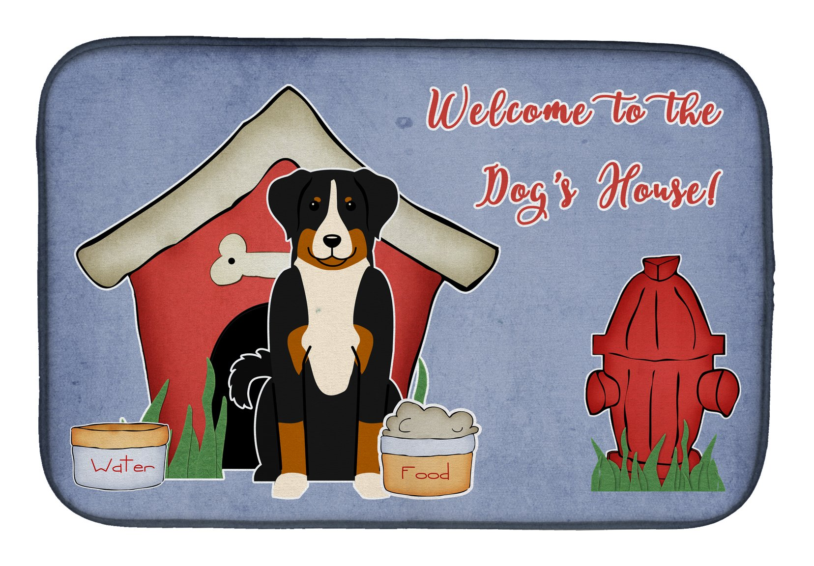 Dog House Collection Appenzeller Sennenhund Dish Drying Mat BB2797DDM by Caroline's Treasures