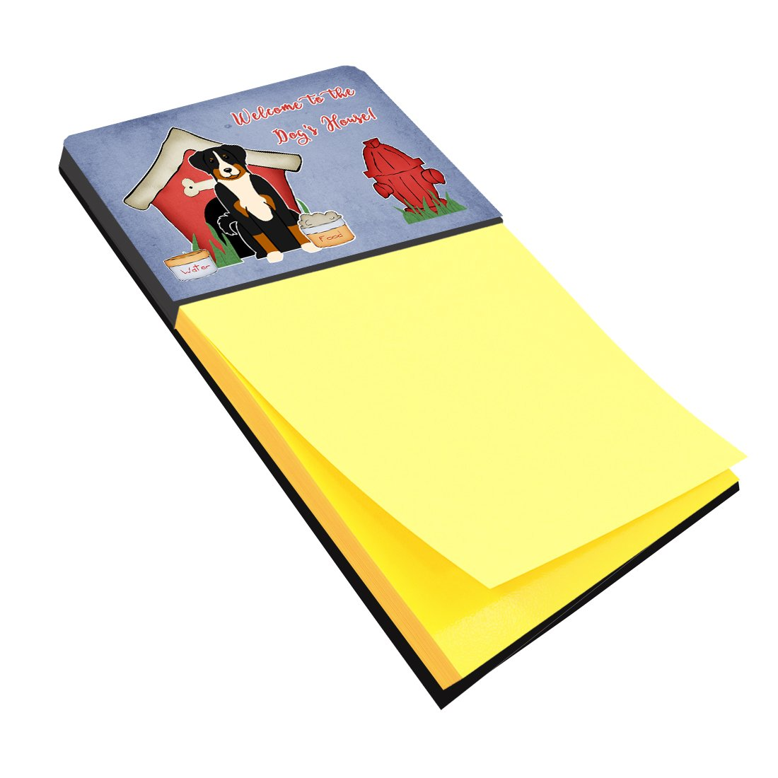 Dog House Collection Appenzeller Sennenhund Sticky Note Holder BB2797SN by Caroline's Treasures