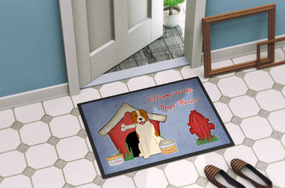 Dog House Collection Central Asian Shepherd Dog Indoor or Outdoor Mat 24x36 BB2803JMAT