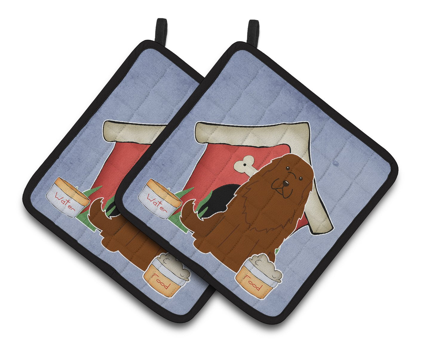 Buy this Dog House Collection Caucasian Shepherd Dog Pair of Pot Holders