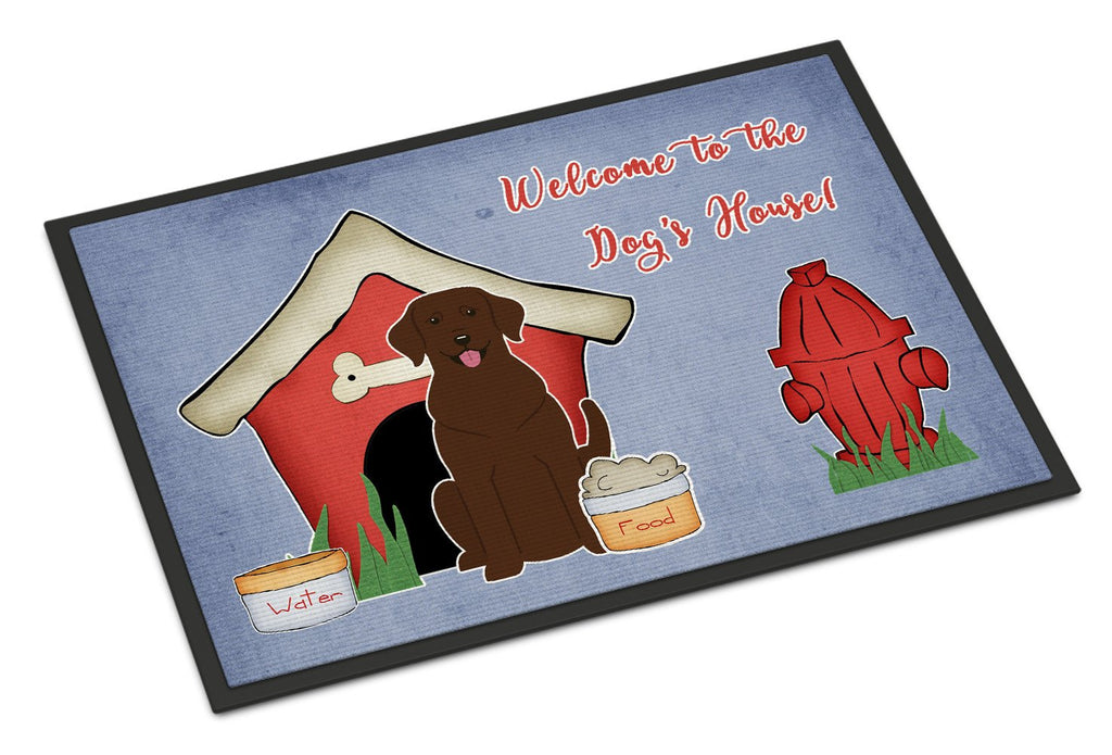 Buy this Dog House Collection Chocolate Labrador Indoor or Outdoor Mat 18x27 BB2810MAT