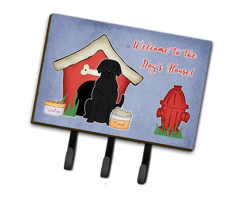 Buy this Dog House Collection Black Labrador Leash or Key Holder