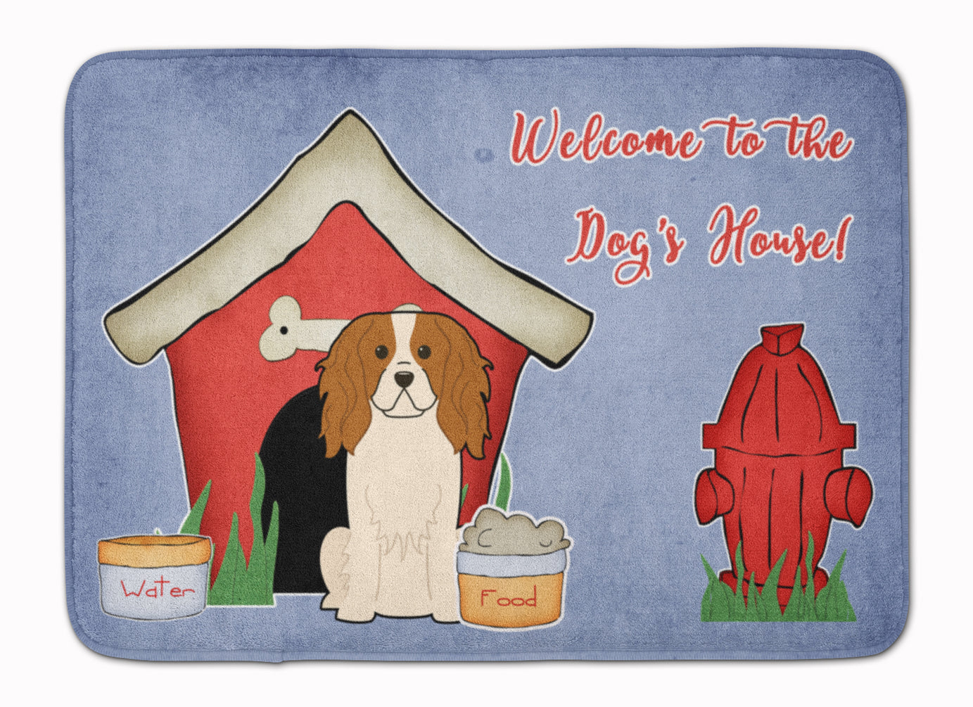Dog House Collection Cavalier Spaniel Machine Washable Memory Foam Mat BB2812RUG by Caroline's Treasures