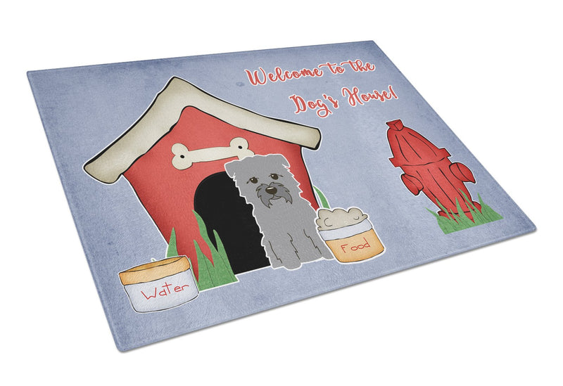 Buy this Dog House Collection Glen of Imal Grey Glass Cutting Board Large BB2813LCB