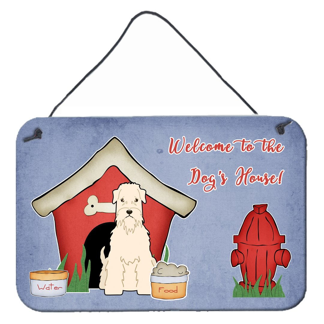 Dog House Collection Soft Coated Wheaten Terrier Wall or Door Hanging Prints by Caroline's Treasures