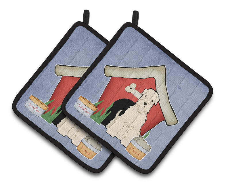 Buy this Dog House Collection Soft Coated Wheaten Terrier Pair of Pot Holders
