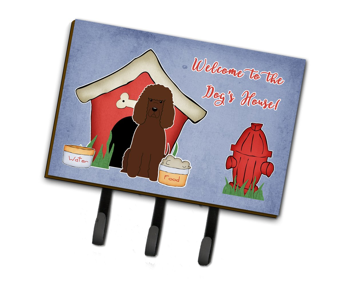 Dog House Collection Irish Water Spaniel Leash or Key Holder by Caroline's Treasures