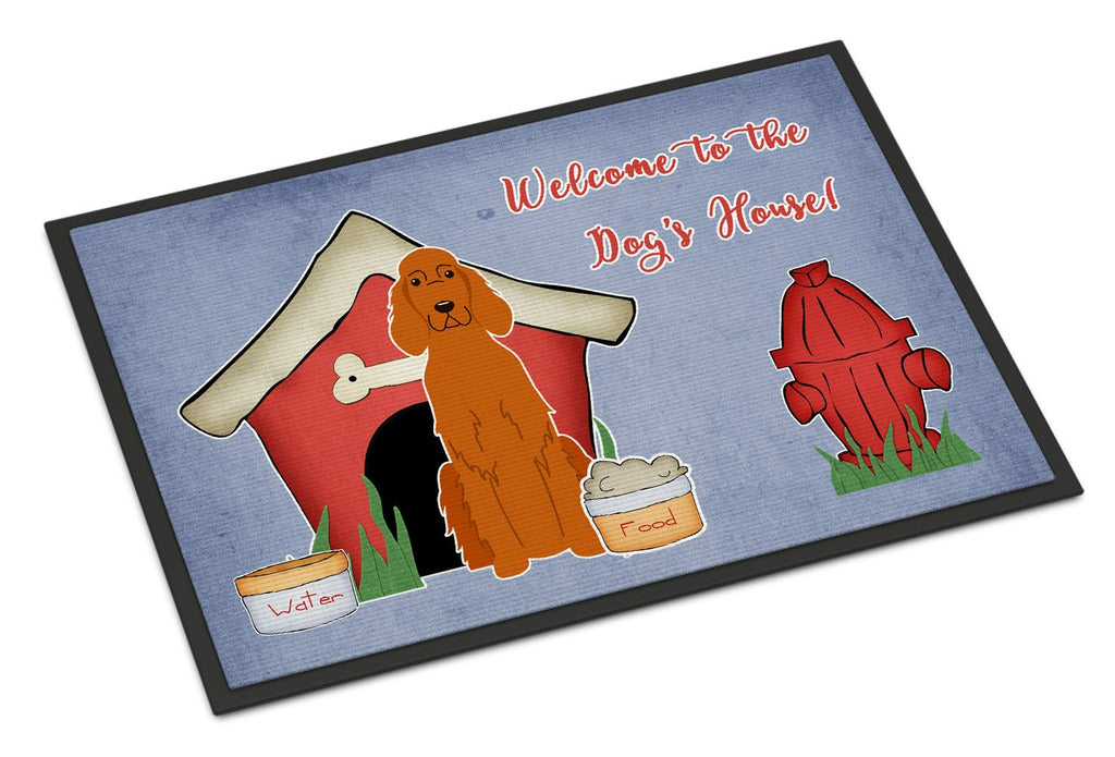 Buy this Dog House Collection Irish Setter Indoor or Outdoor Mat 18x27 BB2818MAT