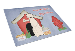 Buy this Dog House Collection Irish Wolfhound Glass Cutting Board Large BB2819LCB