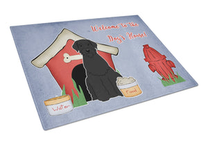 Buy this Dog House Collection Giant Schnauzer Glass Cutting Board Large BB2820LCB