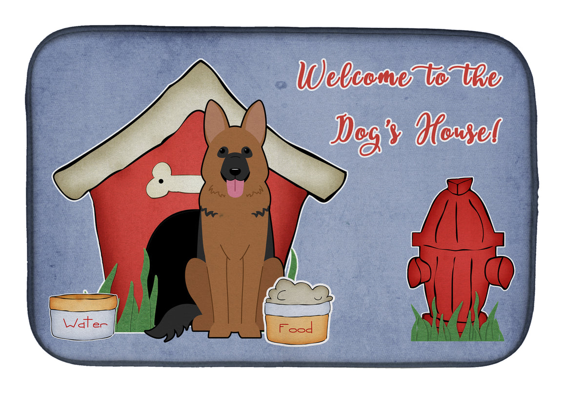 Buy this Dog House Collection German Shepherd Dish Drying Mat BB2821DDM