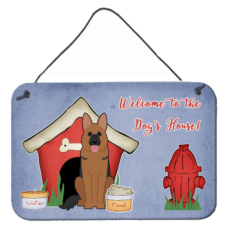 Buy this Dog House Collection German Shepherd Wall or Door Hanging Prints
