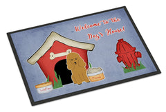 Buy this Dog House Collection Poodle Tan Indoor or Outdoor Mat 24x36 BB2823JMAT