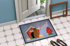 Dog House Collection Dogue de Bourdeaux Indoor or Outdoor Mat 24x36 BB2827JMAT