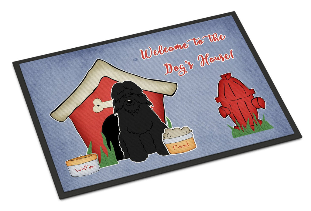 Buy this Dog House Collection Bouvier des Flandres Indoor or Outdoor Mat 18x27 BB2828MAT