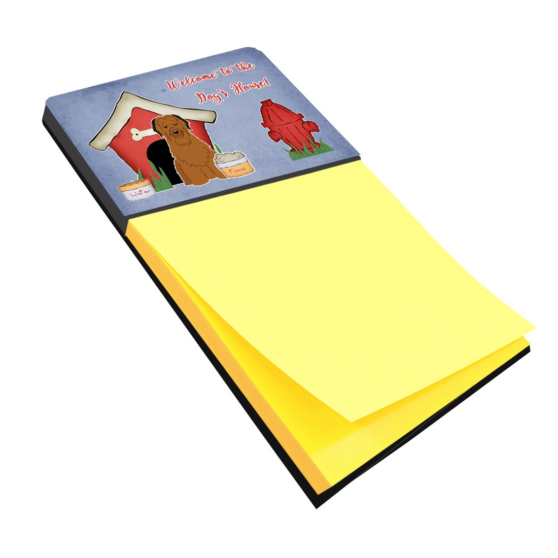 Buy this Dog House Collection Briard Brown Sticky Note Holder BB2836SN