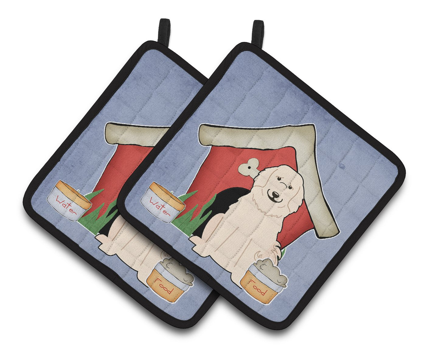 Buy this Dog House Collection Great Pyrenese Pair of Pot Holders