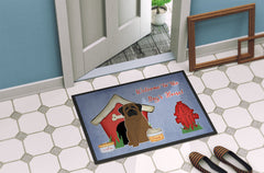 Dog House Collection Bullmastiff Indoor or Outdoor Mat 24x36 BB2838JMAT