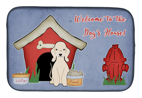 Buy this Dog House Collection Bedlington Terrier Sandy Dish Drying Mat BB2845DDM