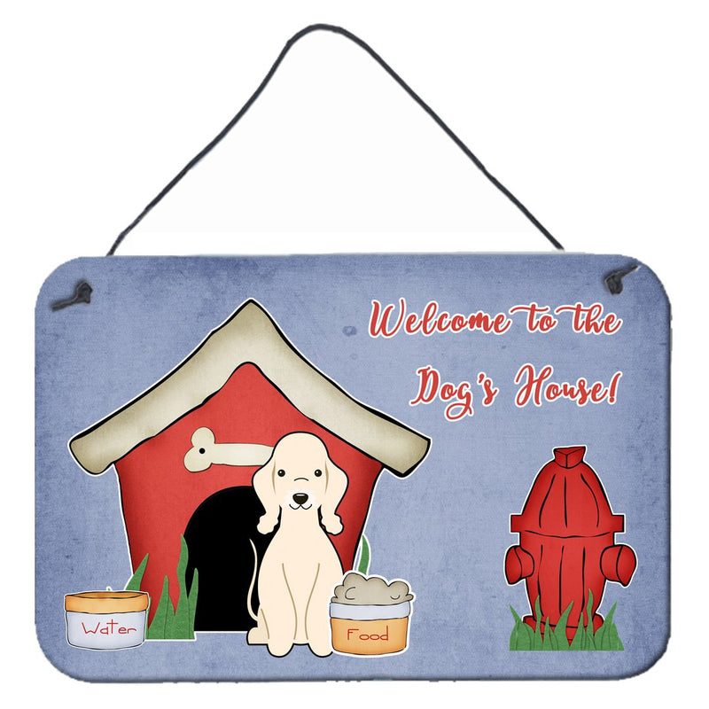 Buy this Dog House Collection Bedlington Terrier Sandy Wall or Door Hanging Prints